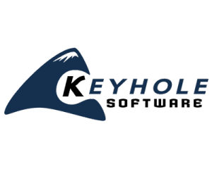 LARGE Keyhole Software Logo - Transparent300dpi